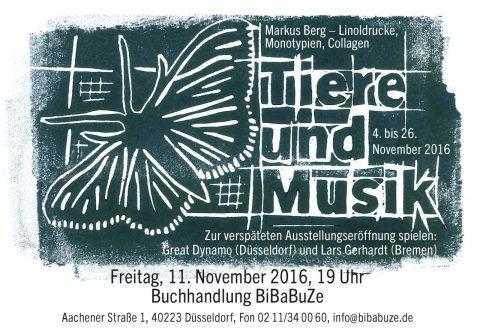 Markus Berg - Tiere und Musik